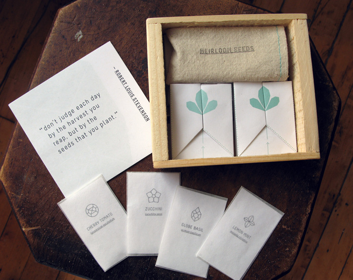 Heirloom Seed Kit Product Design