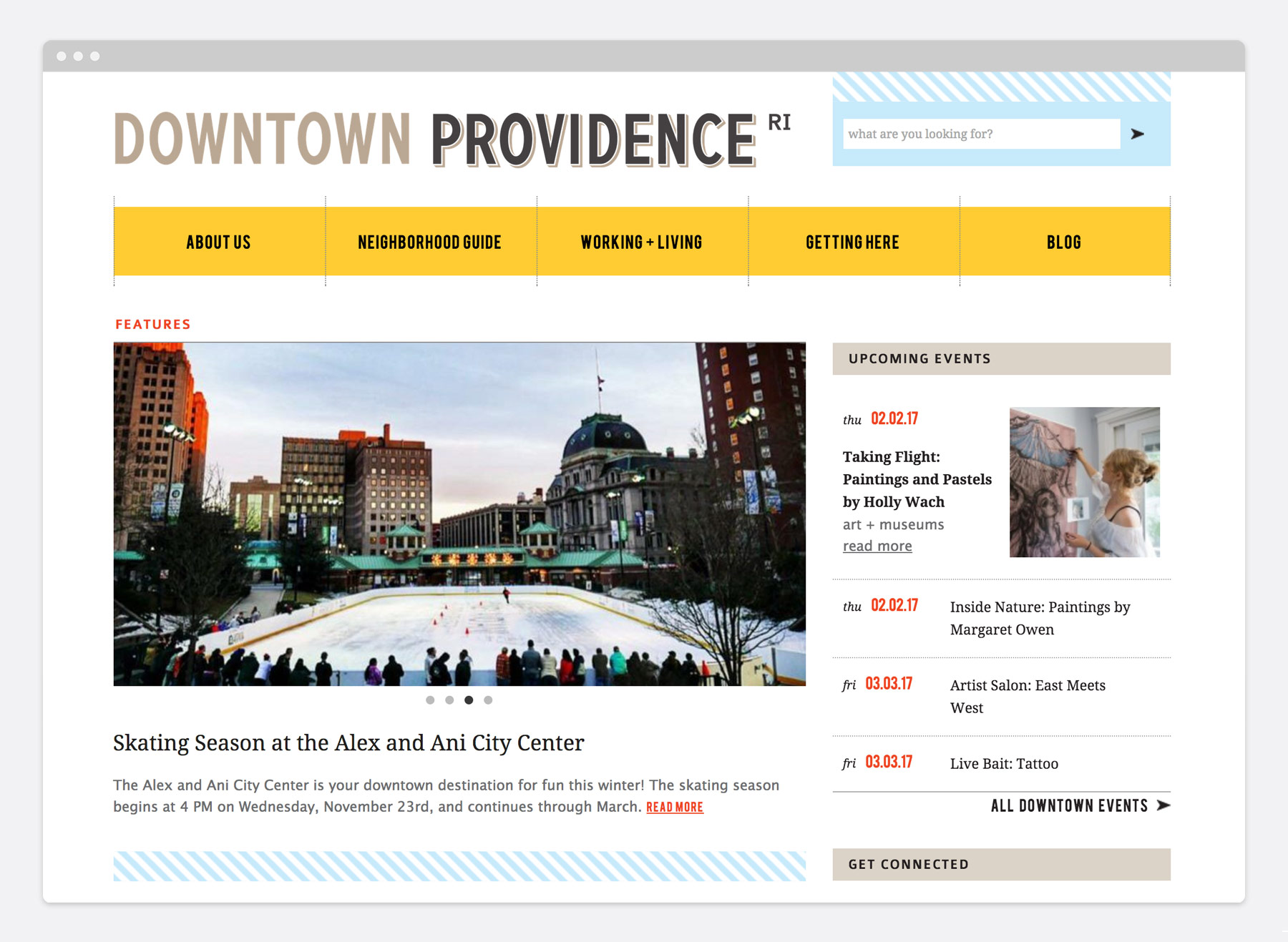Downtown Providence Branding