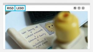 Lego Education + RISD Website