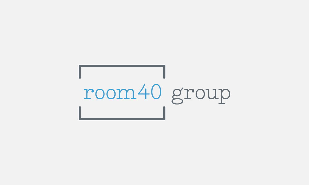 Room40 Group Logo Design