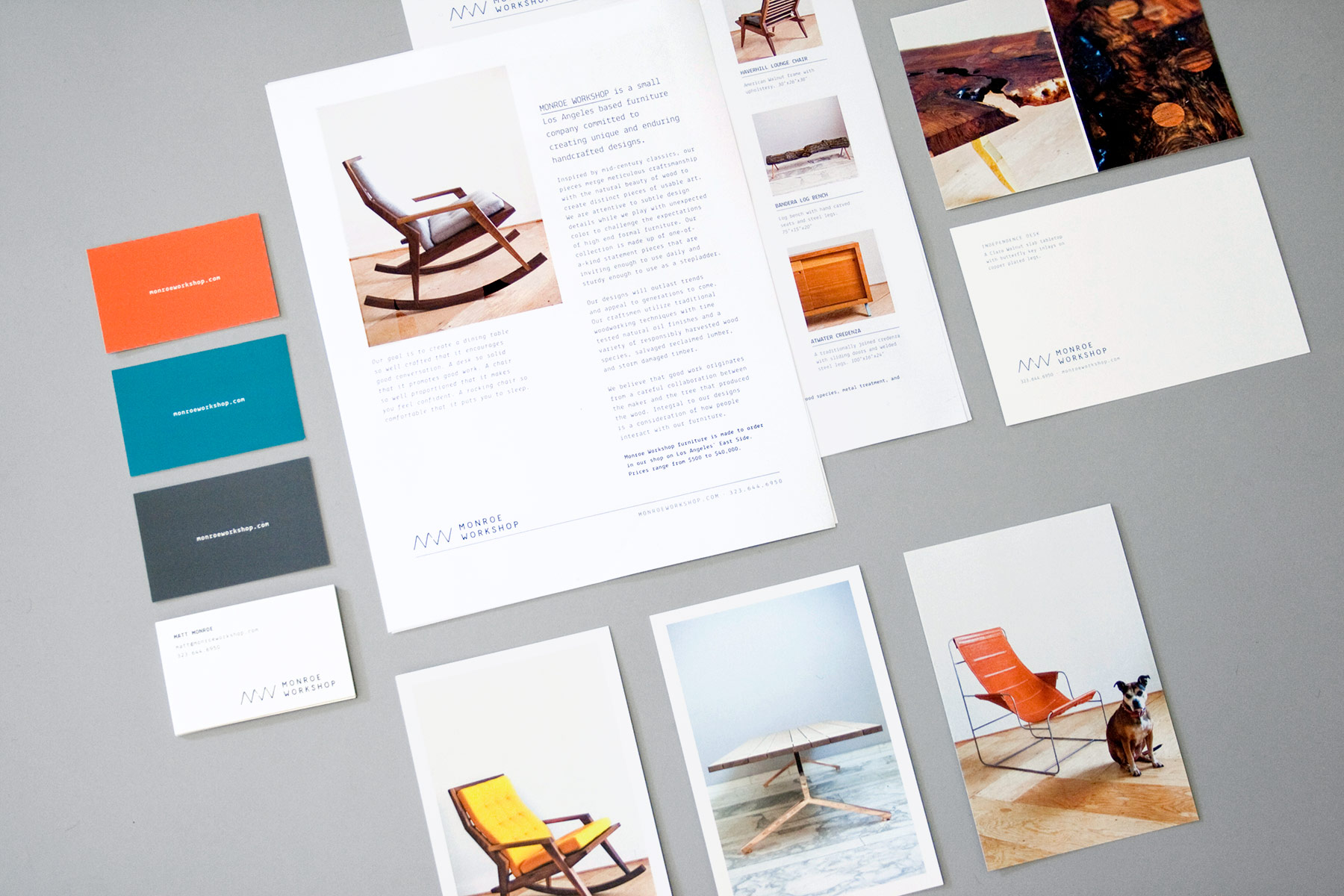 Monroe Workshop Branding