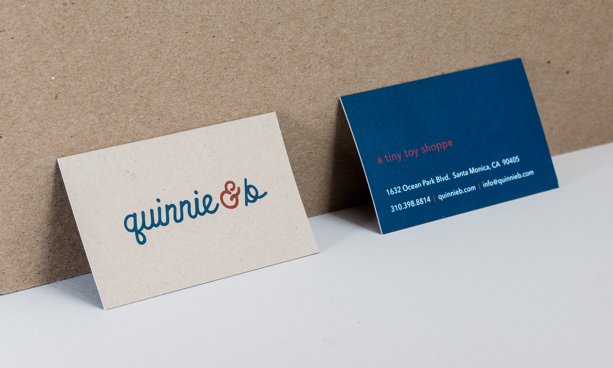 Quinnie & B Toy Shoppe Branding