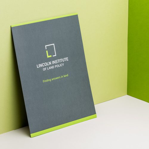 Lincoln Institute of Land Policy Branding