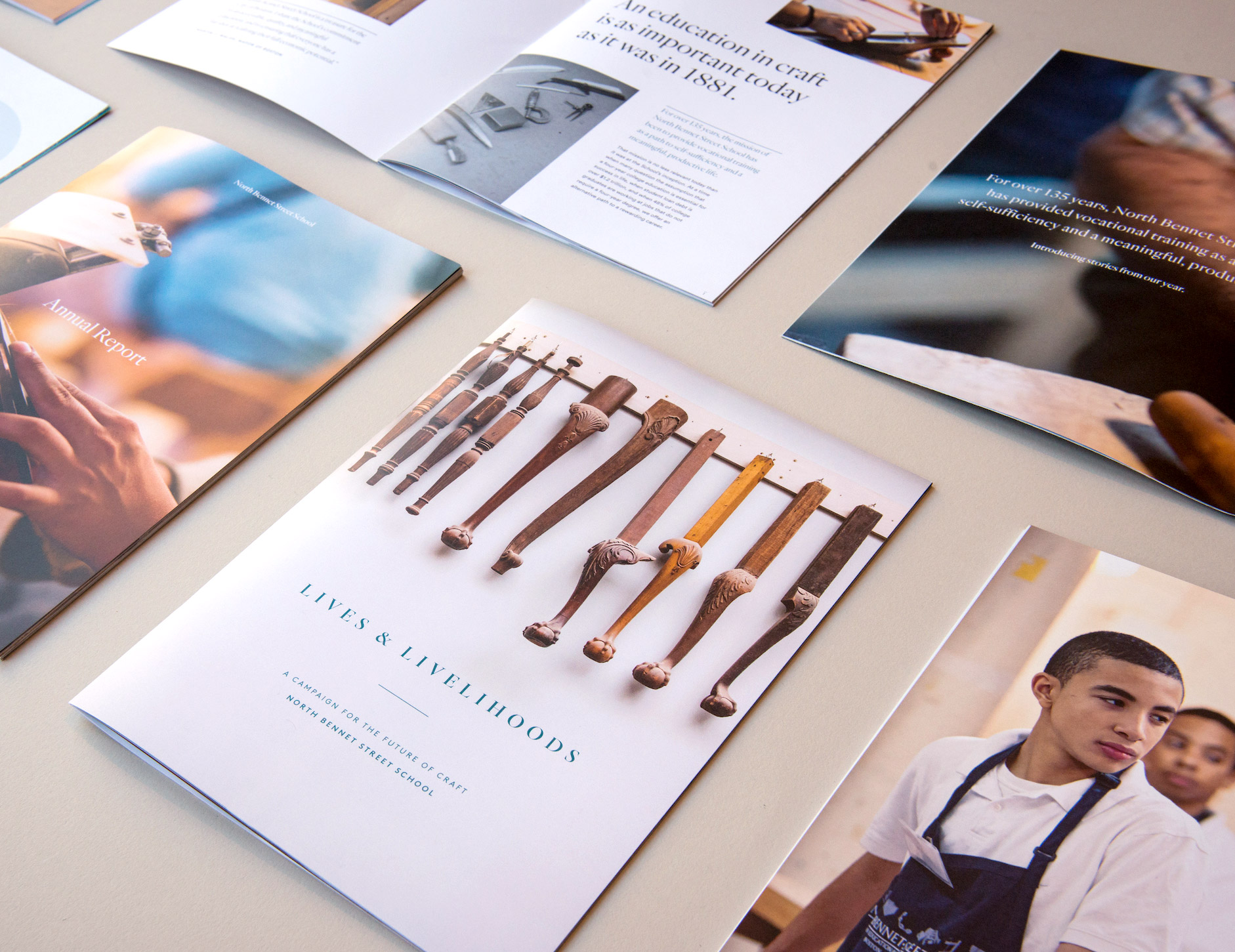 North Bennet Street School Fundraising Collateral