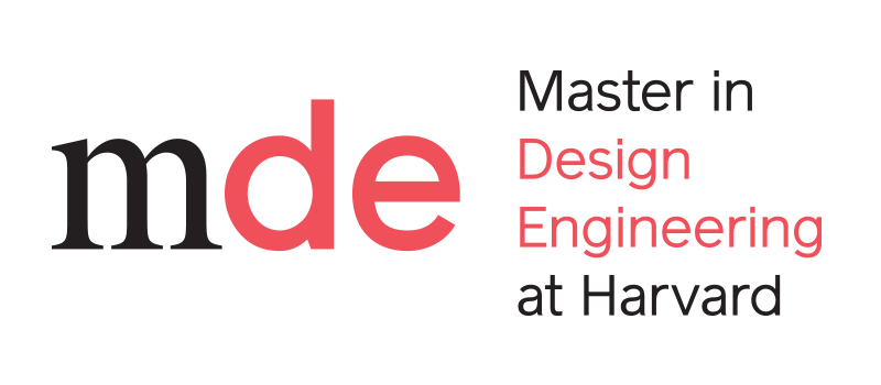 Harvard mde logo design