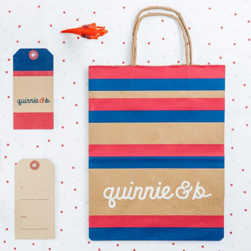 Quinnie & B Shop Branding and Website