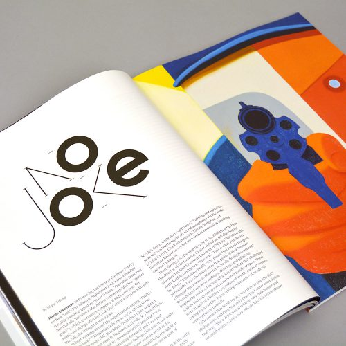 RISD XYZ Alumni Magazine Features Design