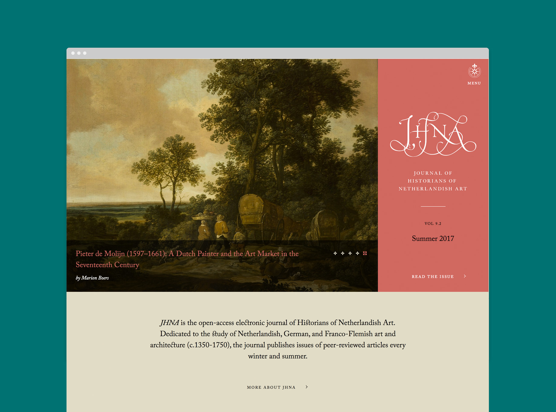 JHNA Website Design