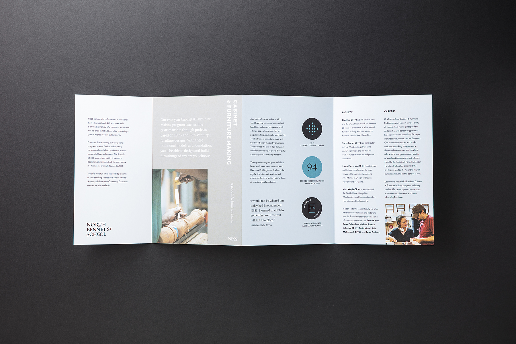 North Bennet Street School Brand Design and Collateral