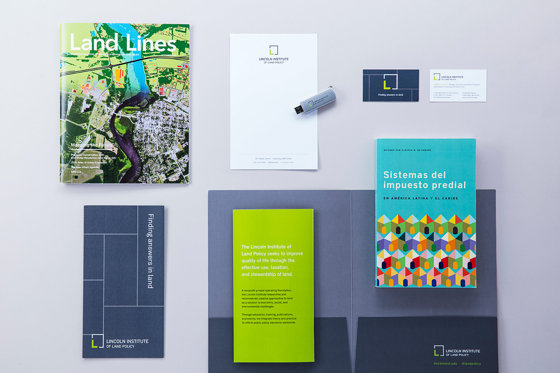 Lincoln Institute of Land Policy Brand Design