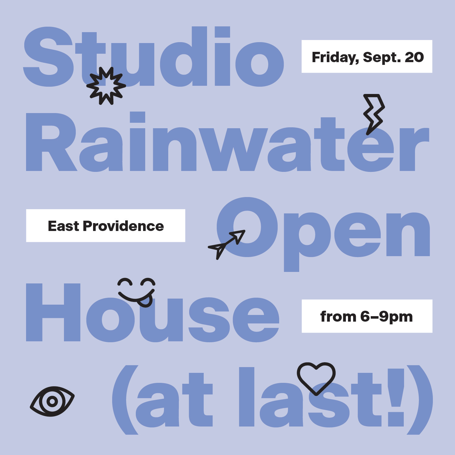 Studio Rainwater Open House Party