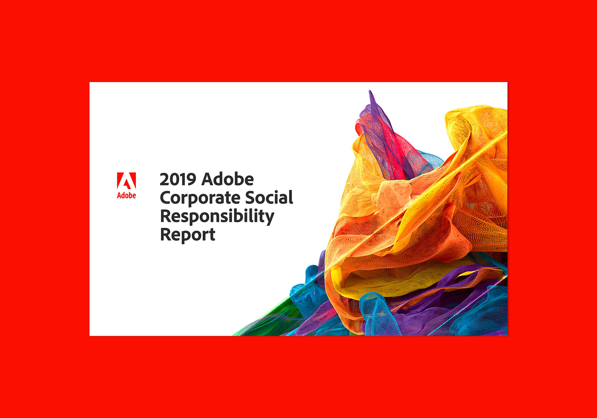 ADOBE CORPORATE SOCIAL RESPONSIBILITY